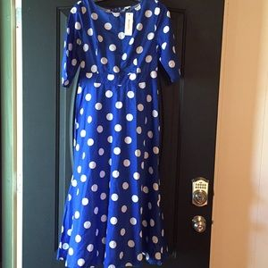 Dresses & Skirts - NWT Polka dot dress